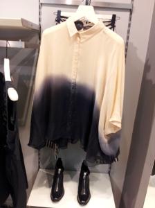 חולצת קימונו חצי שקופה של דיזל