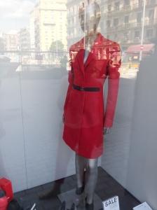 מעילים בסגנון קלאסי בצבע אדום לוהט
